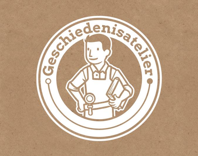 Geschiedenisatelier logo